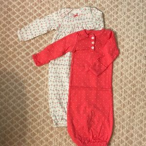 Carters Baby Gowns